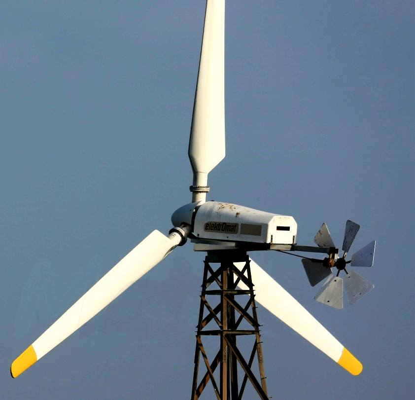Wind generators harvesting energy to take advantage of trade winds