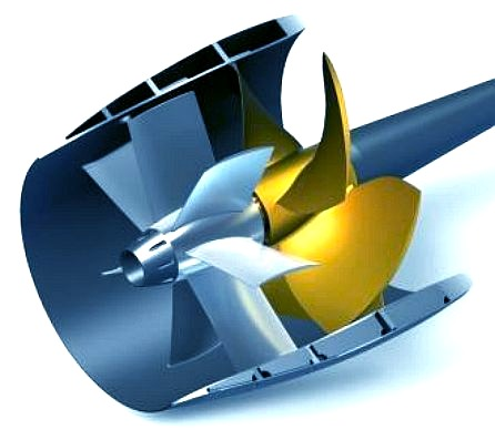 High efficiency propellers to convert energy to thrust